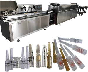 Pharmaceutical Ampule /Vials /Tube Full Auto Silk Screen Printing Machine